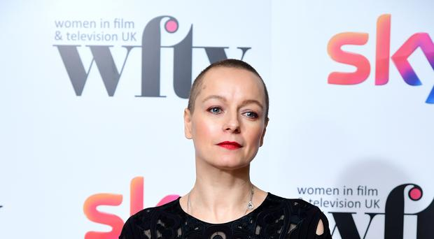 Samantha Morton at the Women in Film and TV Awards (Ian West/PA)