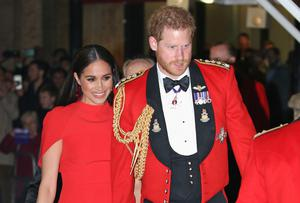 The Duke and Duchess of Sussex (Jonathan Brady/PA)