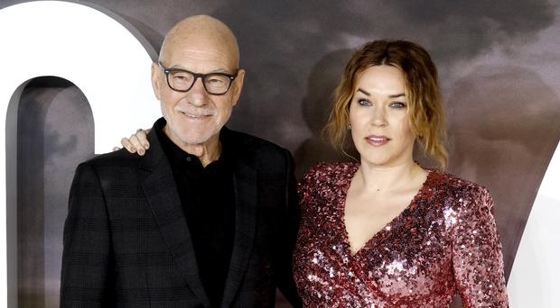 Sir Patrick Stewart and his wife Sunny Ozell attending the Star Trek: Picard premiere (David Parry/PA)
