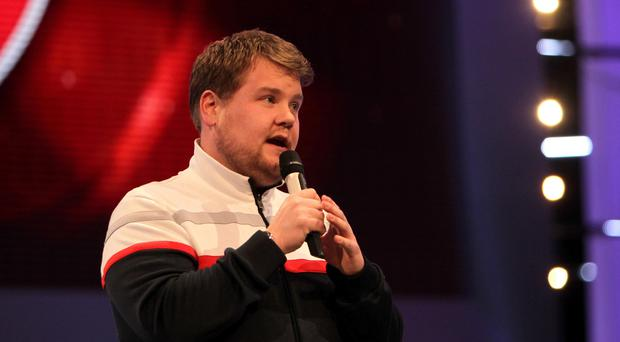 James Corden in the role of Smithy from the TV Programme Gavin and Stacey (David Davies/PA)