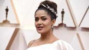 Salma Hayek responds to fan who tells her she had 'too much Botox' (Jordan Strauss/AP)