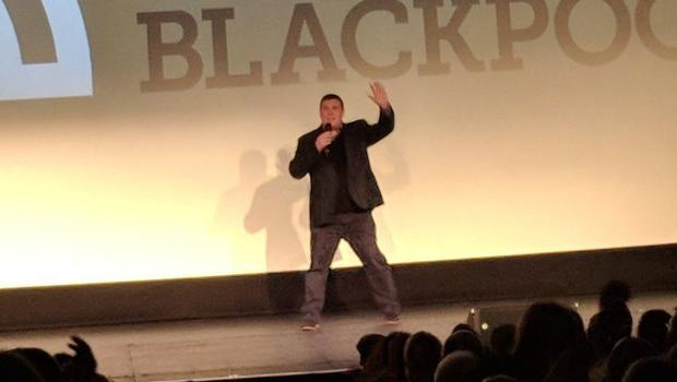 Peter Kay surprises fans with rare appearance at Car Share screening