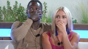 Love Island's Marcel and Gabby (ITV)