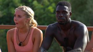 Gabby and Marcel on the show (ITV)