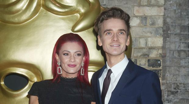 Joe Sugg has said he and Dianne Buswell still dance together after their stint on Strictly (Yui Mok/PA)