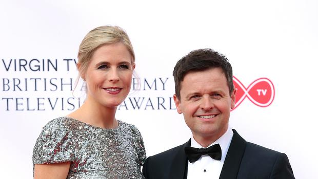 Declan Donnelly and Ali Astall (Isabel Infantes/PA)