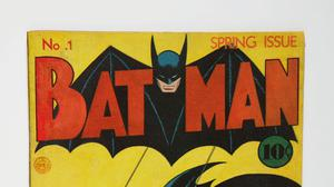 The first issue of Batman from spring 1940 (Sotheby's/PA)