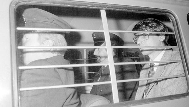 Dennis Nilsen after he was sentenced to a minimum of 25 years imprisonment (PA)
