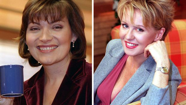 Lorraine Kelly and Esther McVey (PA)