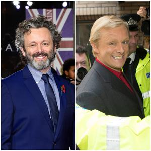 MIchael Sheen plays Chris Tarrant in ITV drama Quiz (Matt Frost/ITV and Ian West/PA Wire/PA Images).