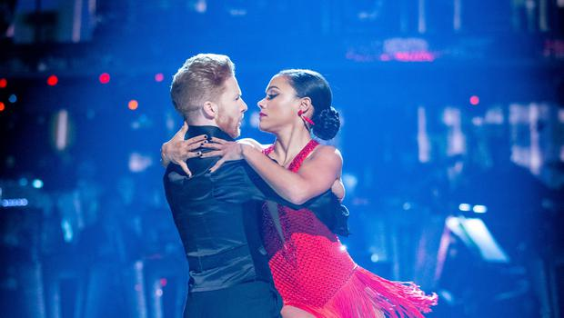 Neil Jones and Alex Scott (Guy Levy/BBC/PA)