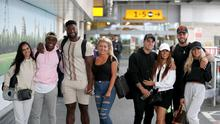 Home from the villa – Love Island contestants touch down at Heathrow (Andrew Matthews/PA)