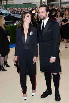 Rhys with his wife Keri Russell with whom he has a two-year-old son named Sam (Aurore Marechal/PA)