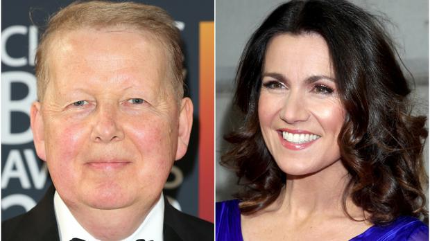 Bill Turnbull and Susanna Reid used to present BBC Breakfast together (Isabel Infantes/Yui Mok/PA)