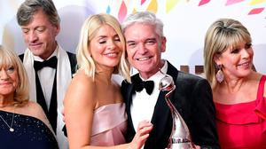 Holly Wiloughby and Phillip Schofield (Ian West/PA)