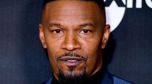 Jamie Foxx at the UK special screening of Just Mercy in London (Ian West/PA)