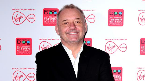 Bob Mortimer said he 'didn't feel a thing' after receiving the vaccine (Ian West/PA)