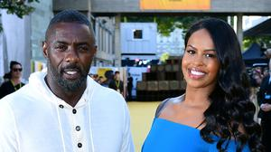 Idris Elba and his wife Sabrina Dhowre have both tested positive for Covid-19 (PA)