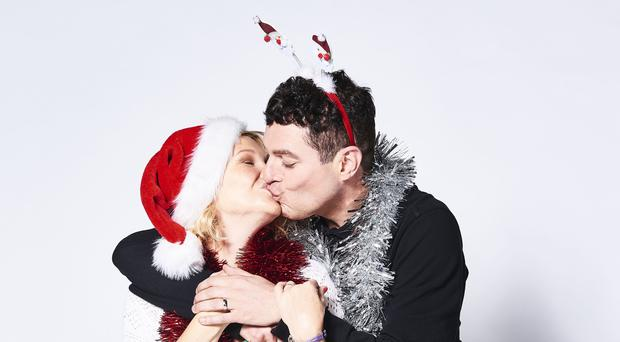 Joanna Page and Mathew Horne returned to their roles in Gavin and Stacey for the Christmas special (Tom Jackson/BBC/PA)