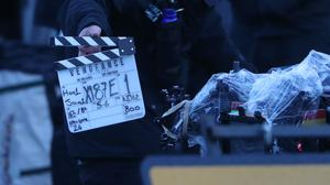 A clapperboard (Andrew Milligan/PA)