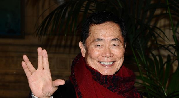 George Takei drew on his own experiences of eing interned during World War Two for new horror drama series The Terror: Infamy (Ian West/PA)