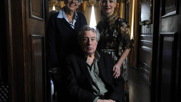 Terry Jones attends A Very Special Afternoon Tea, with Prue Leith (left) and nutritionist to the stars Jane Clarke to launch Nourish website and community, helping people living with cancer and dementia (Kirsty O'Connor/PA)
