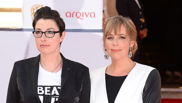 Mel and Sue are back together in a new sitcom (Dominic Lipinski/PA)