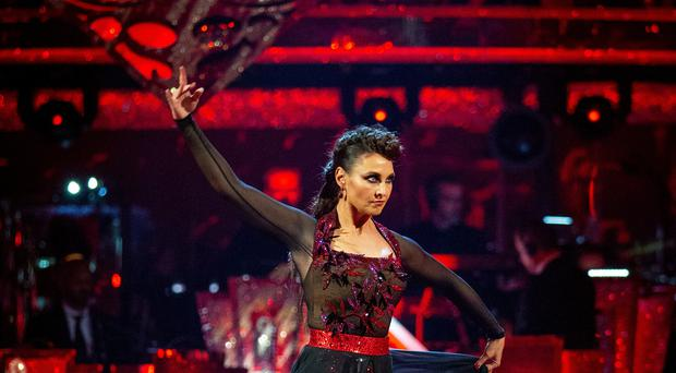 Emma Barton on Strictly Come Dancing (Guy Levy/BBC/PA)