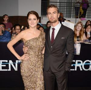 Theo James had to lie to Shailene Woodley about her cooking
