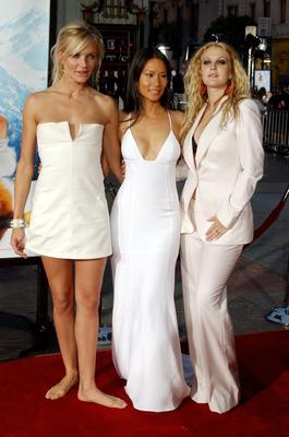 Cameron Diaz, Lucy Liu and Drew Barrymore eventually starred in Charlie's Angels (Jeff Rayner/PA)