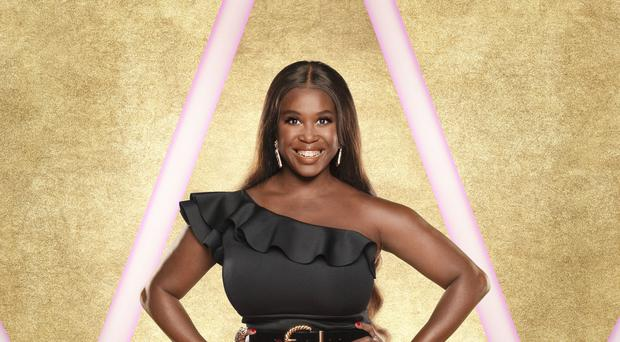 Motsi Mabuse (Ray Burmiston/BBC)