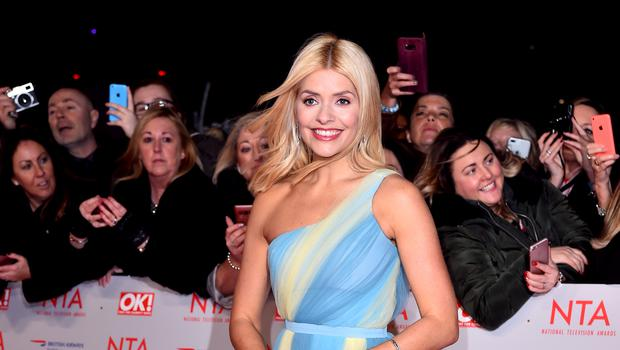 Holly Willoughby attending the National Television Awards 2018 (Matt Crossick/PA)