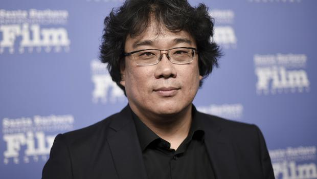 Bong Joon-ho has been recognised at the Writers Guild Awards for his film Parasite (Richard Shotwell/Invision/AP)