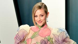Riverdale actress Lili Reinhart says the 'spirit' of her late co-star Luke Perry visited her in a dream (Ian West/PA)