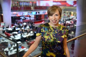 Director of BBC news and current affairs Fran Unsworth (Jeff Overs)
