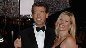 Pierce Brosnan with his daughter Charlotte in 2006 (Yui Mok/PA)