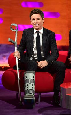 Eddie Redmayne during the filming of The Graham Norton Show (Ian West/PA)