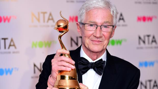 Paul O'Grady has given up watching television, saying there is,