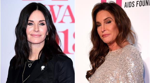 Courteney Cox surprised to find out she looks like Caitlyn Jenner (PA Archive/PA)
