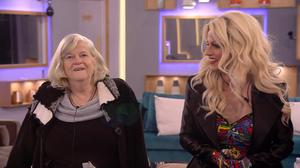 Finalists Ann Widdecombe and Courtney Act (Channel 5)