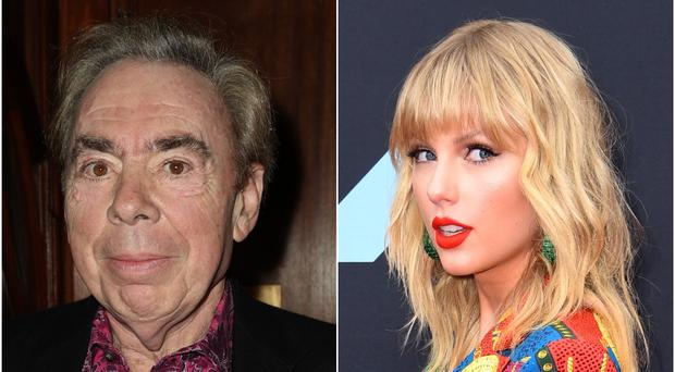 Taylor Swift and Andrew Lloyd Webber have worked together on a song for the upcoming Cats film (PA)