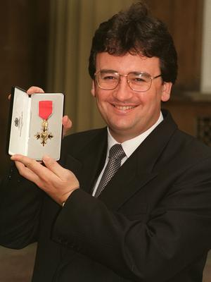 Keane was made an OBE in 1996 in recognition of his career (John Stillwell/PA)