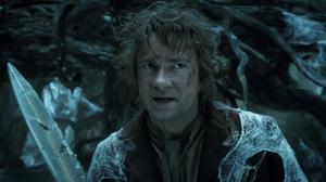 Martin Freeman plays Bilbo Baggins in The Hobbit: The Desolation Of Smaug (PA Photo/Warner Home Video)