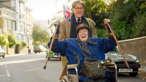 Dame Maggie Smith plays Miss Shepherd and Alex Jennings plays Alan Bennett in The Lady In The Van