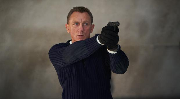 Daniel Craig playing James Bond in the new Bond film No Time To Die (Nicole Dove/Danjaq, LLC/MGM)
