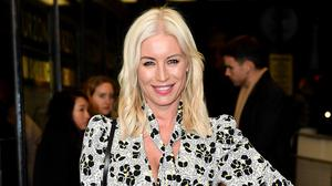 Denise Van Outen will soon return to Neighbours for the programme's 35th anniversary (Matt Crossick/PA)