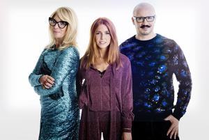 Val Garland, Stacey Dooley and Dom Skinner (Guy Levy/Wall To Wall)