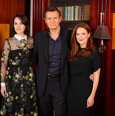 Liam Neeson stars with Michelle Dockery and Julianne Moore in Non-Stop