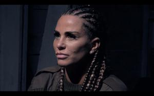 Katie Price handed in her armband during the second episode (Channel 4).