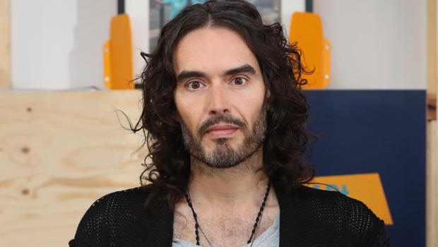 Russell Brand told the Loose Women panel he kissed Meghan Markle in a film (Jonathan Brady/PA)